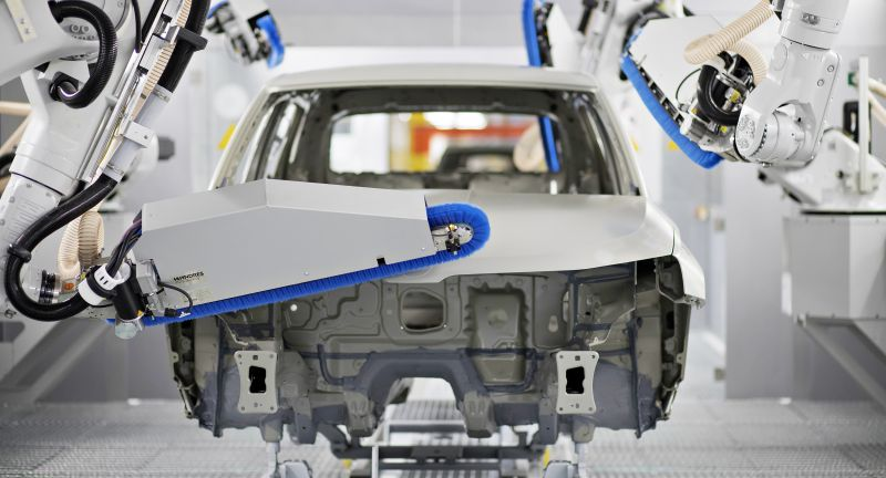 Auto, Industrie, Lackiererei
