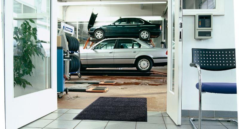Fußmatten, Sauberkeit, Eingangsbereich, Unternehmen, Borstenmatten