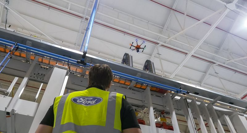 Industrie, Auto, Drohnen, GoPro, Wartungsarbeiten, Sicherheit