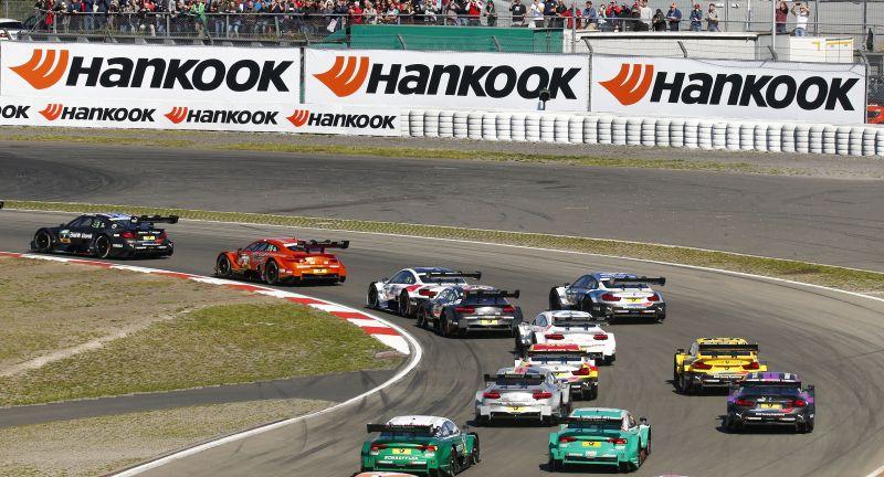 Motorsport, Sport, GER, DTM, Germany, VersandPartnerStandard, Nürburgring, Nürburg
